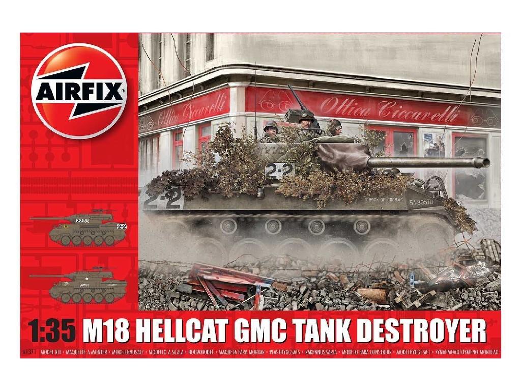 1/35 Plastikový model - tank A1371 - M-18 Hellcat