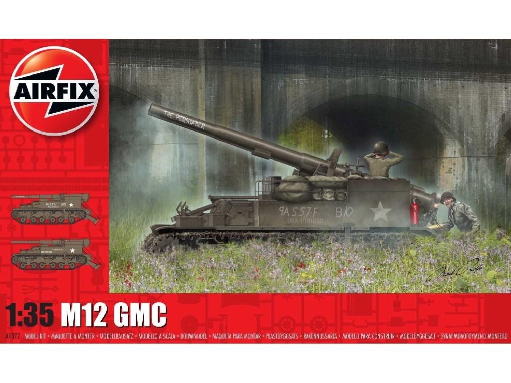 Airfix - A1372 - M12 GMC 1:35