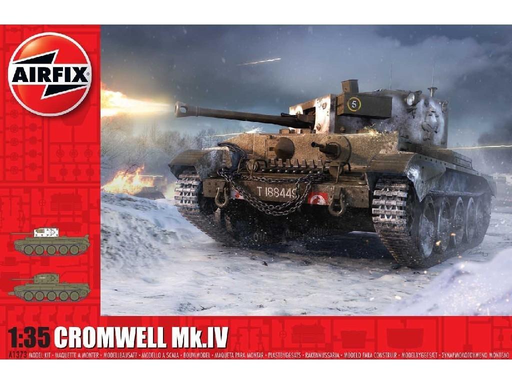 Airfix - A1373 - Cruiser Mk.VIII A27M Cromwell Mk.IV 1:35