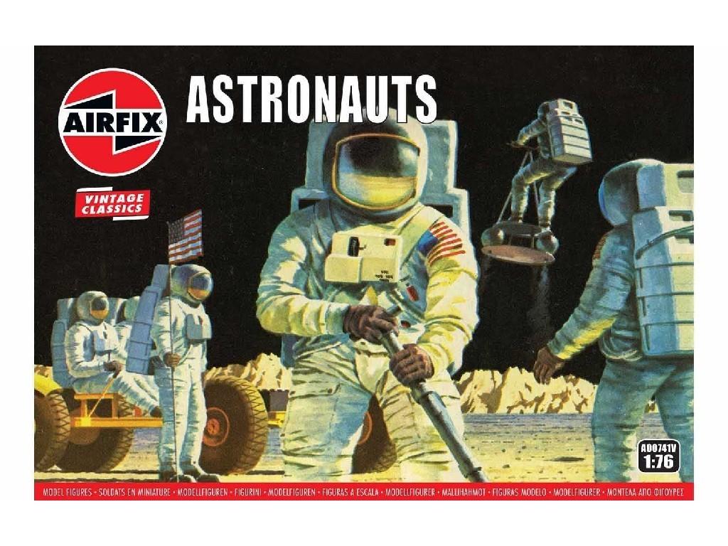 Airfix - vesmír A00741V - Astronauts 1:76