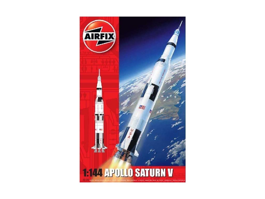 1/144 Plastikový model - vesmír A11170 - Apollo Saturn V