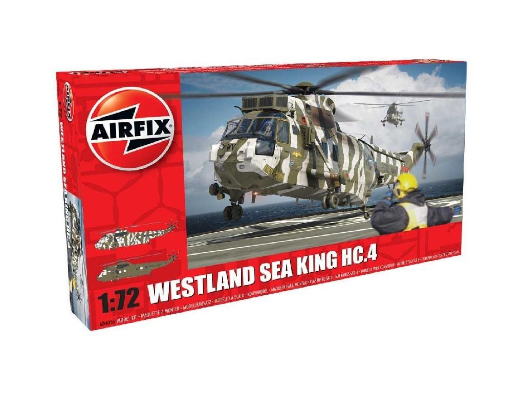 1/72 Plastikový model - vrtuľník A04056 - Westland Sea King HC.4 - nová forma