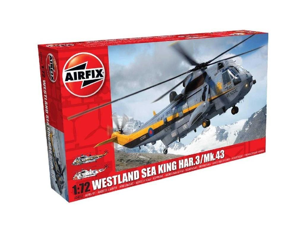 1/72 Plastikový model - vrtulník A04063 - Westland Sea King HAR.3/Mk.43