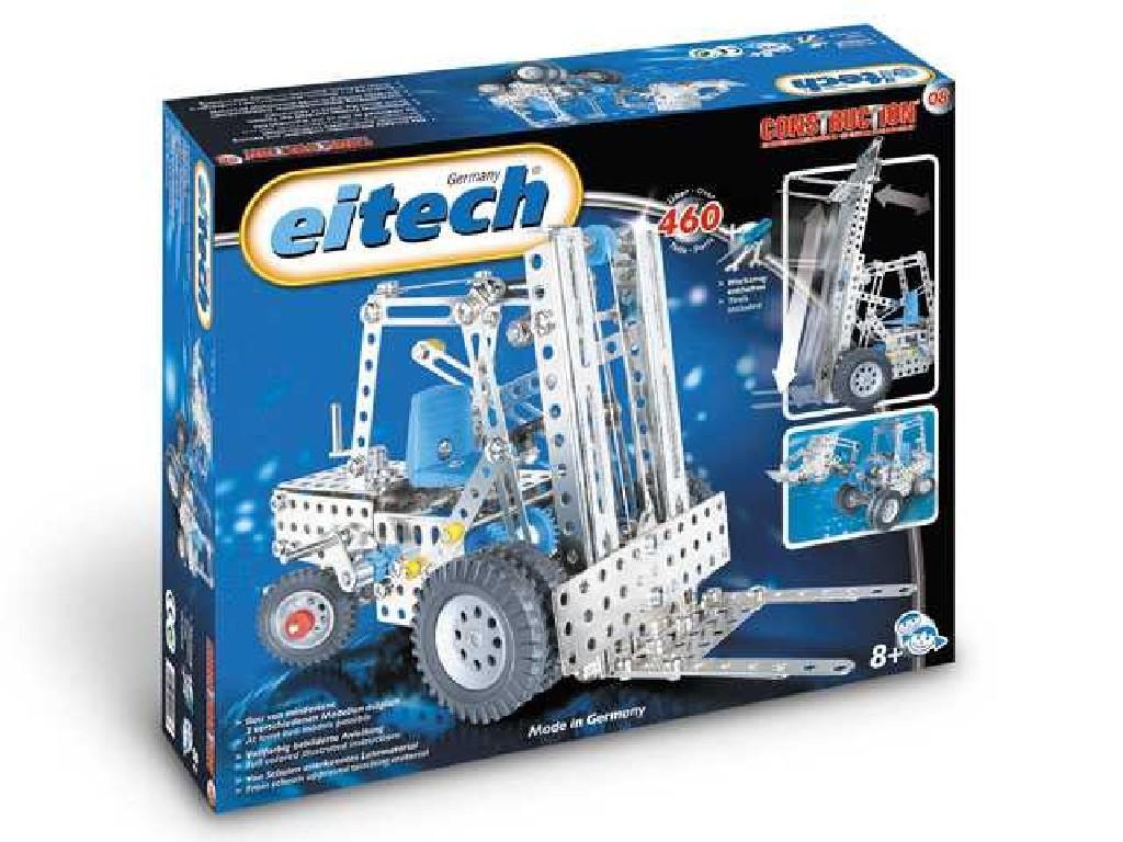 Eitech - Kovová konstrukční sada - C08 Fork / Wheel loader