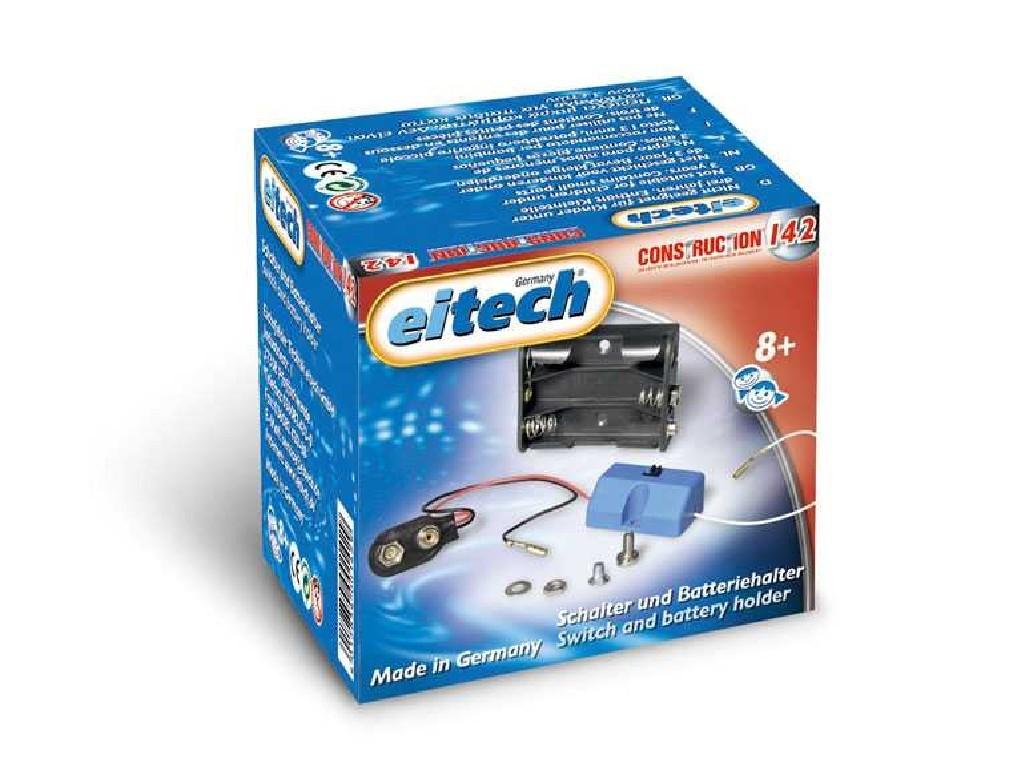 Eitech - Doplňkový box - C142 Battery - Case with on/off switch 4,5V