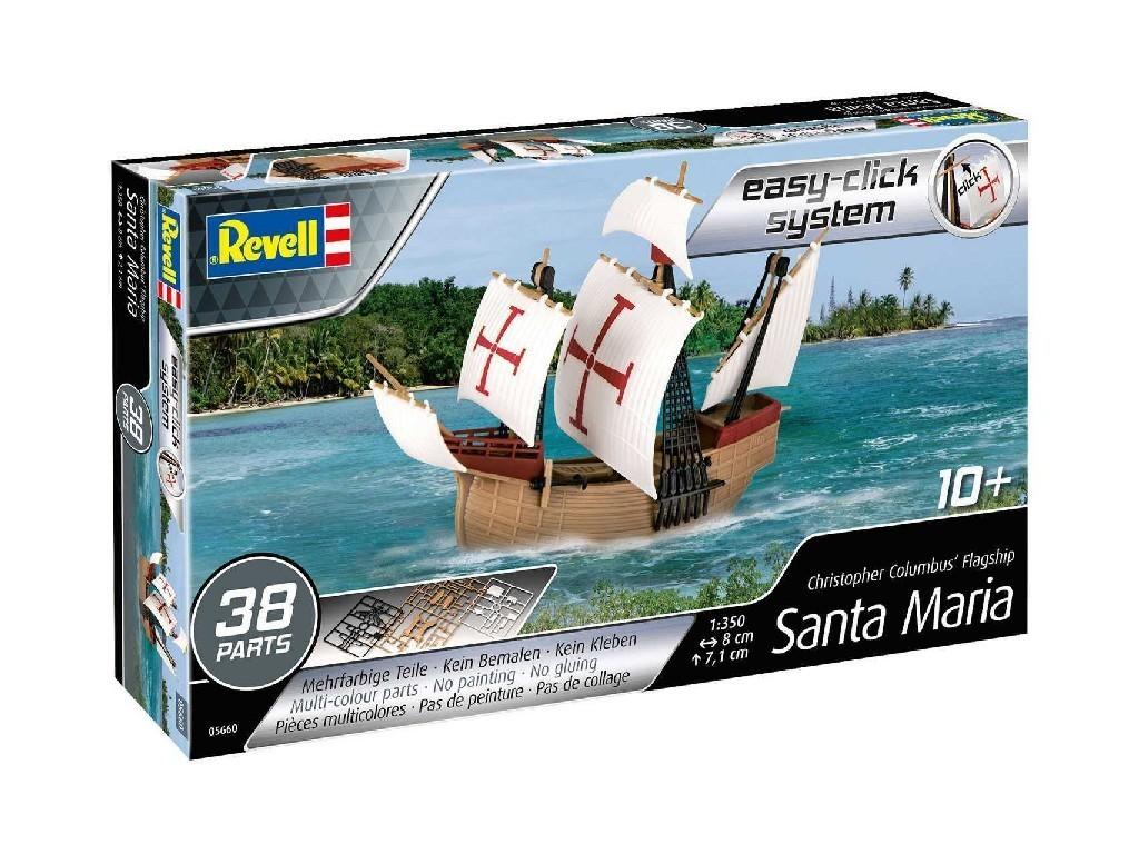 1/350 EasyClick ModelSet loď 65660 - Model Set Santa Maria