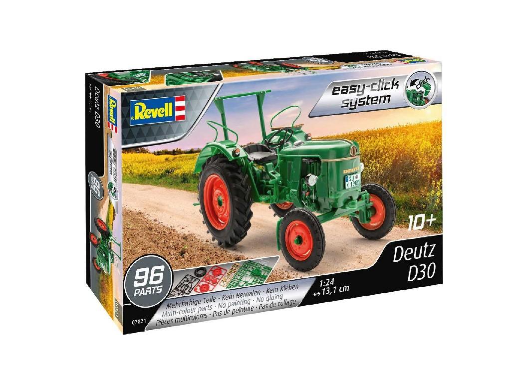 1/24 EasyClick Modelset traktor 67821 - Deutz D30