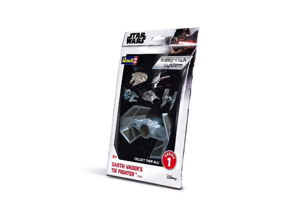 1/121 EasyClick SW 01102 - Darth Vaders TIE Fighter