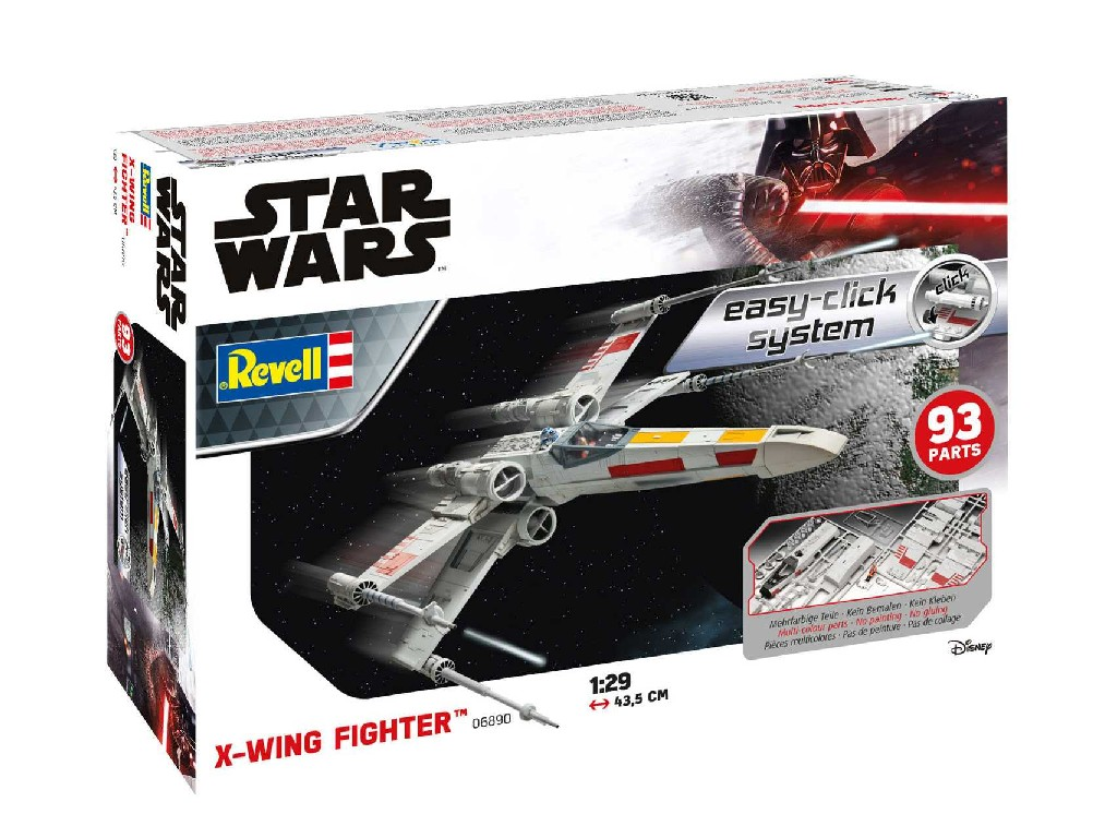 1/29 EasyClick SW 06890 - X-Wing Fighter