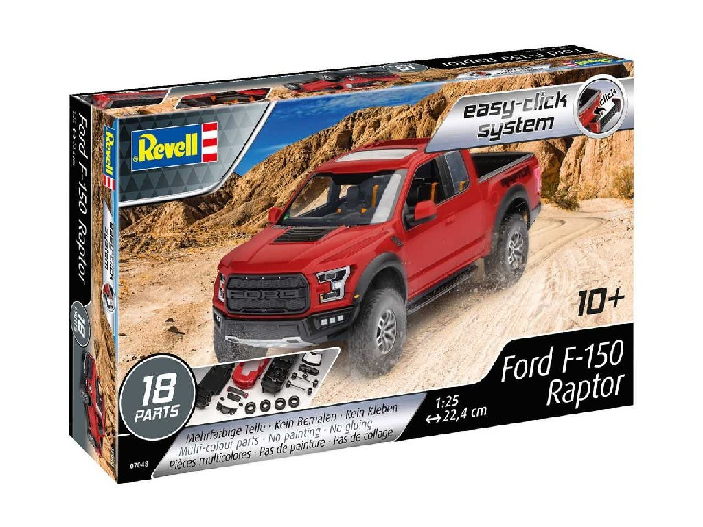 1/25 EasyClick auto 07048 - 2017 Ford F-150 Raptor