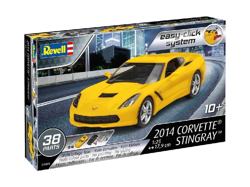 1/25 EasyClick auto 07449 - 2014 Corvette Stingray