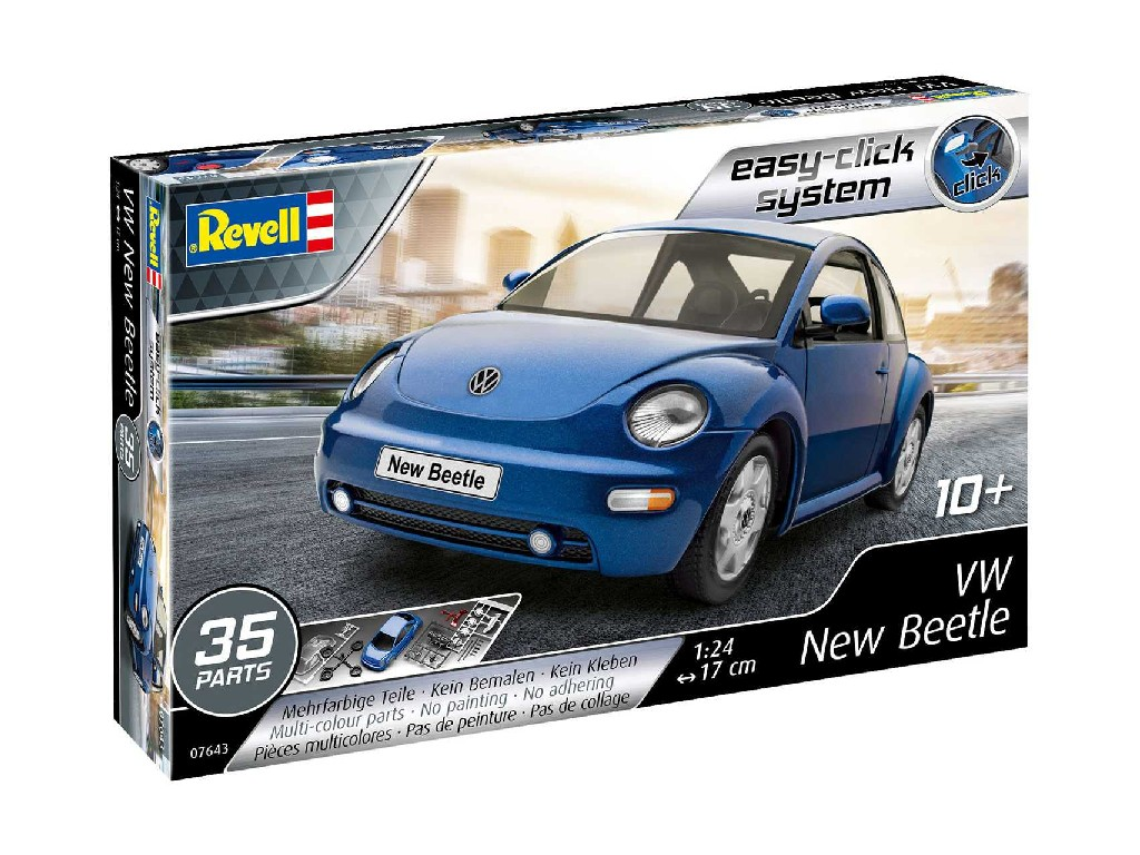 1/24 EasyClick auto 07643 - VW New Beetle