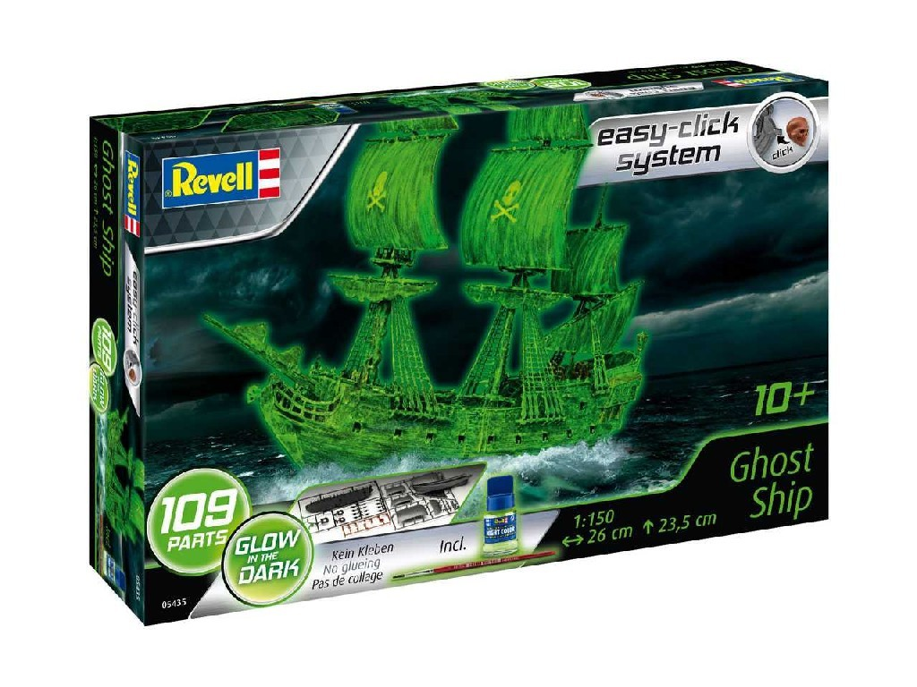 1/150 Plastikový model - EasyClick loď 05435 - Ghost Ship (incl. night color)