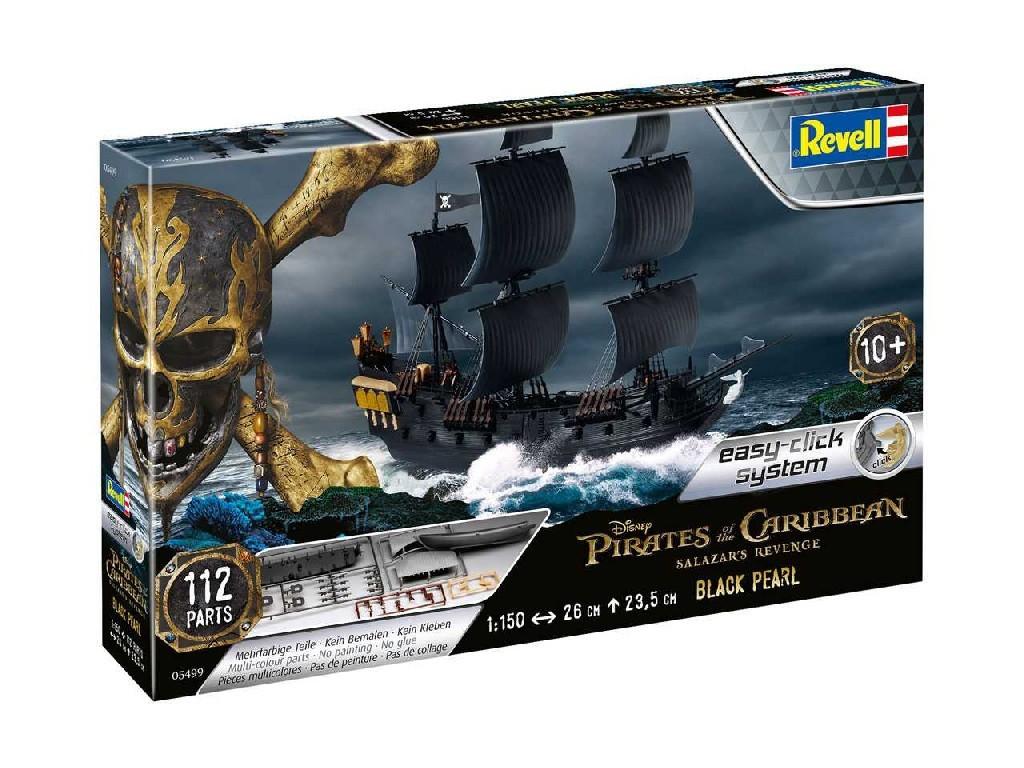 1/150 EasyClick loď 05499 - Black Pearl