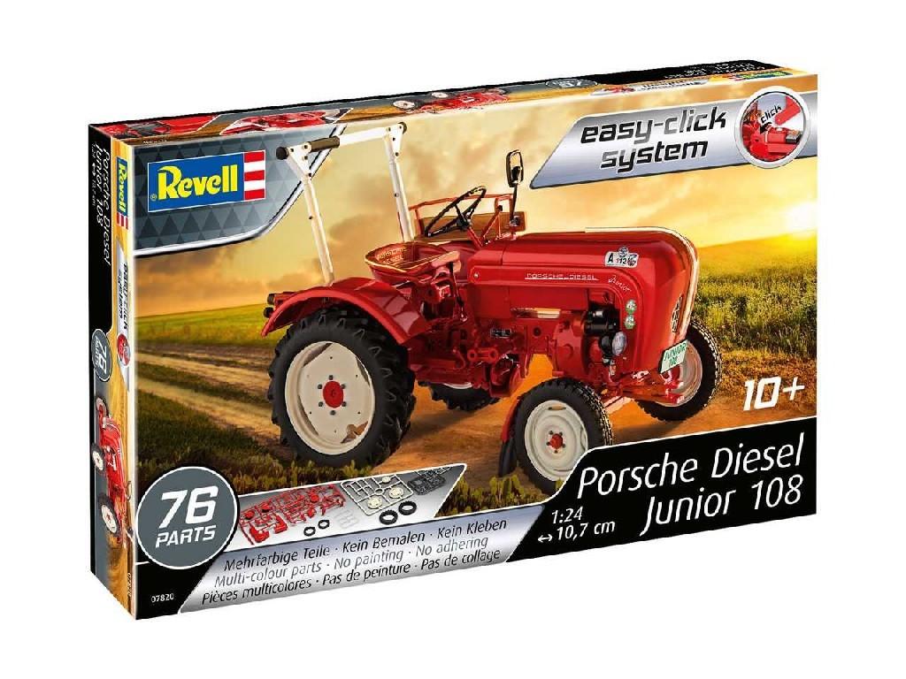 1/24 EasyClick traktor 07820 - Porsche Diesel Junior 108