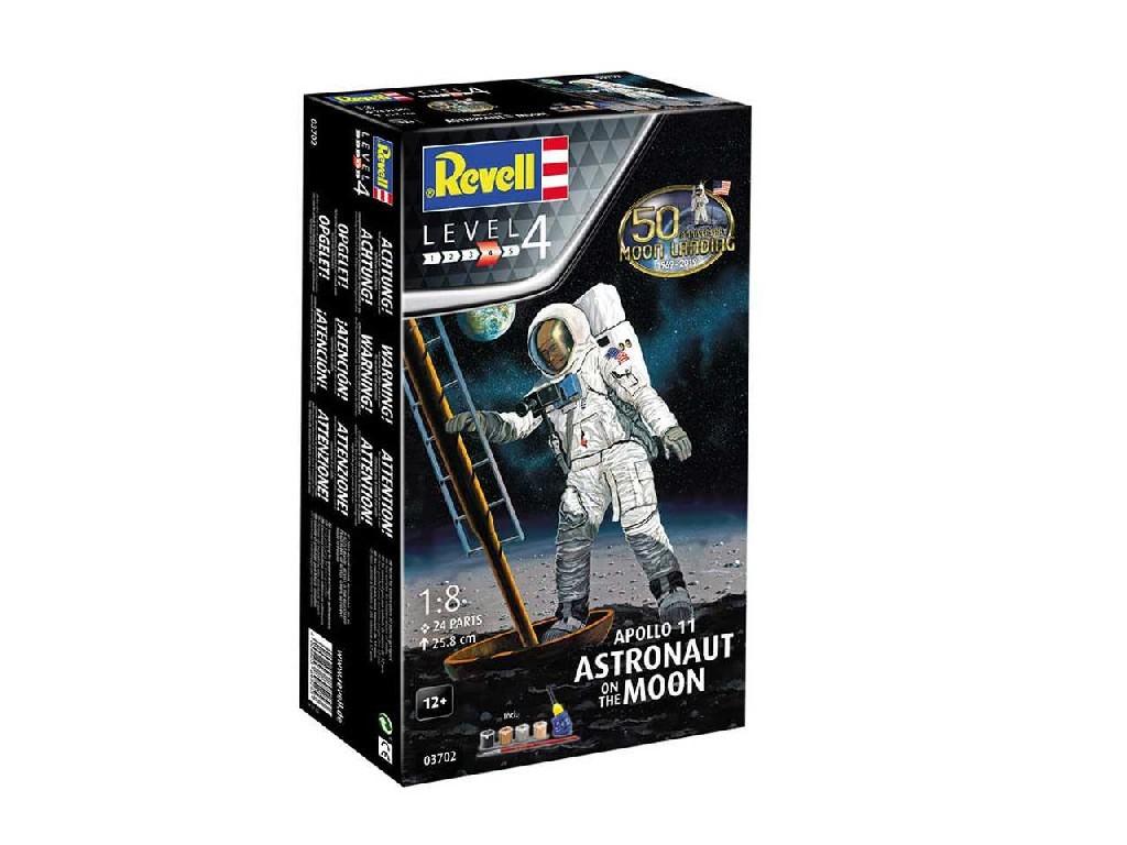 1/8 Gift-Set 03702 - Apollo 11 Astronaut on the Moon (50 Years Moon Landing)