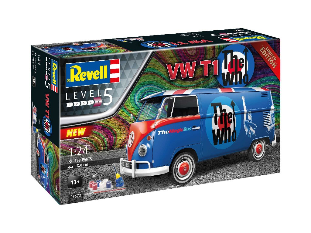 Revell - 05672 - VW T1 The Who 1:24