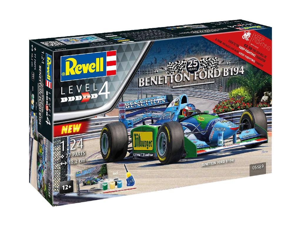 1/24 Dárková sada - auto 05689 - 25th Anniversary Benetton Ford