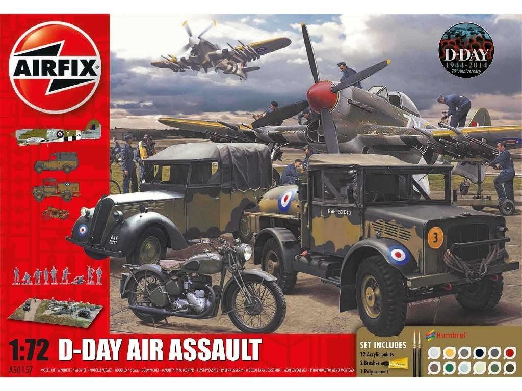 1/72 Plastikový model Set - diorama A50157A - D-Day 75th Anniversary Air Assault