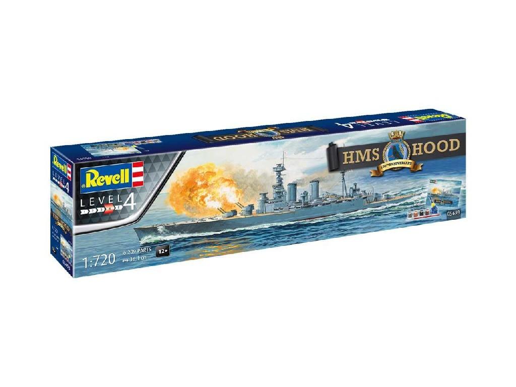 1/720 Gift-Set loď 05693 - 100 Years HMS Hood