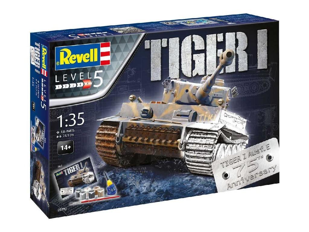 1/35 Dárková sada - tank 05790 - 75 Years Tiger I