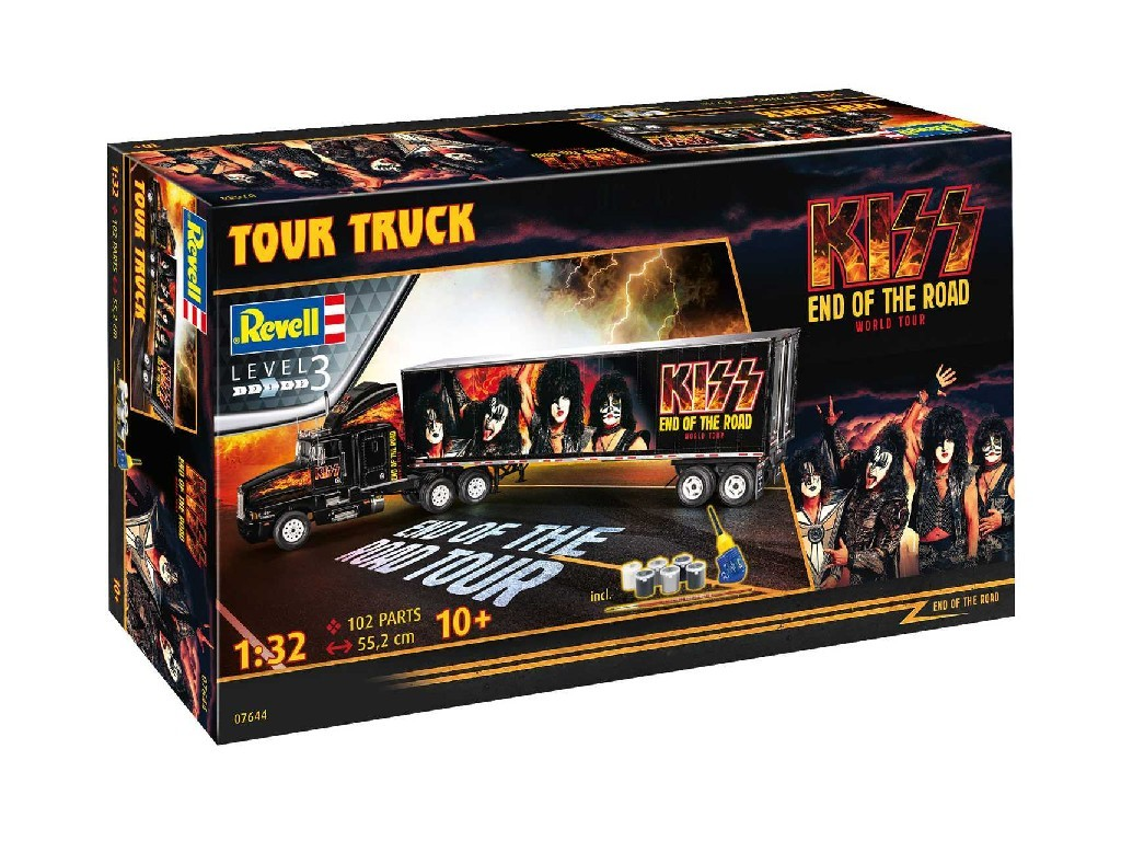1/32 Gift-Set truck 07644 - KISS Tour Truck