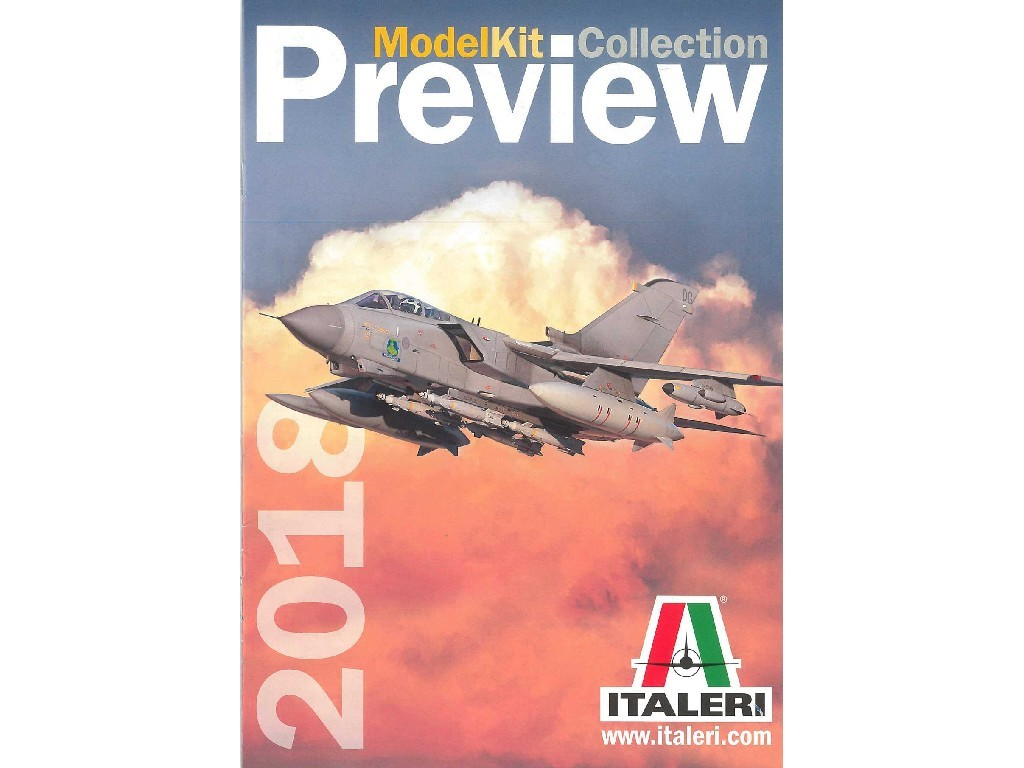 Katalog - Italeri novinky 2018