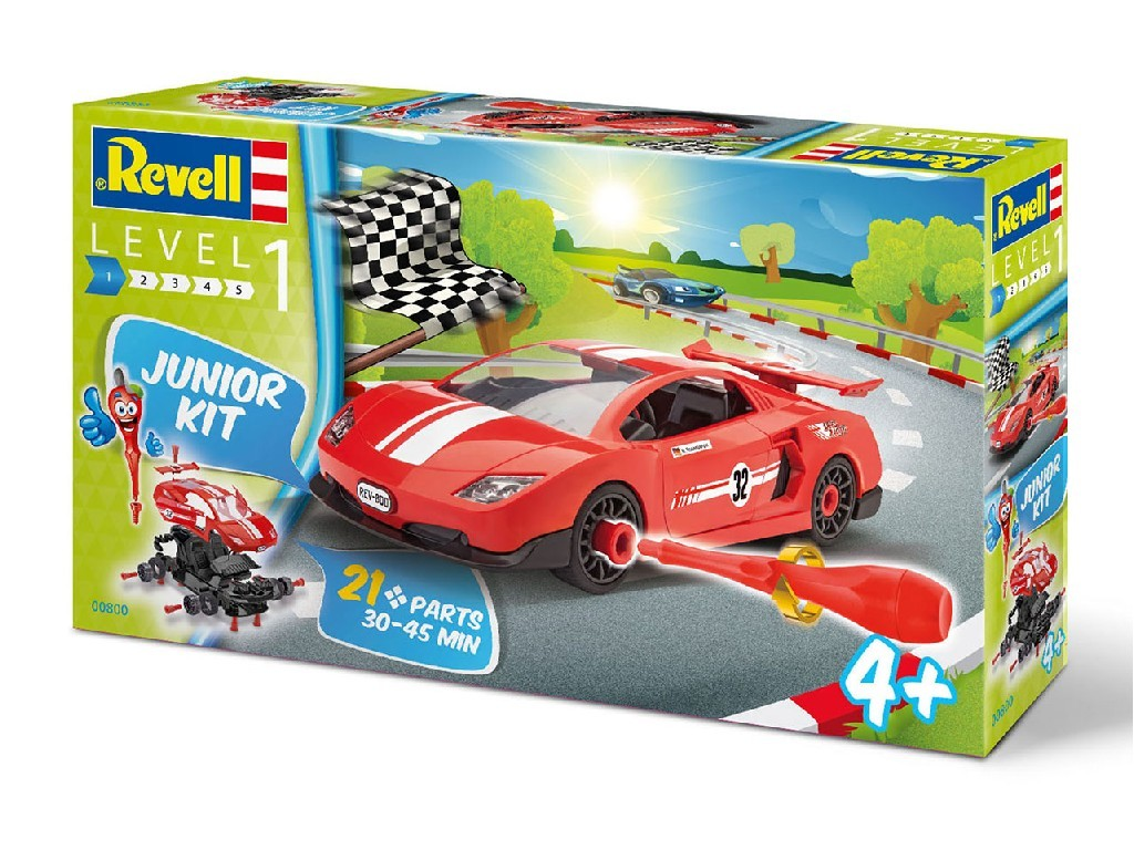 Junior Kit auto 00800 - Racing Car (1:20)