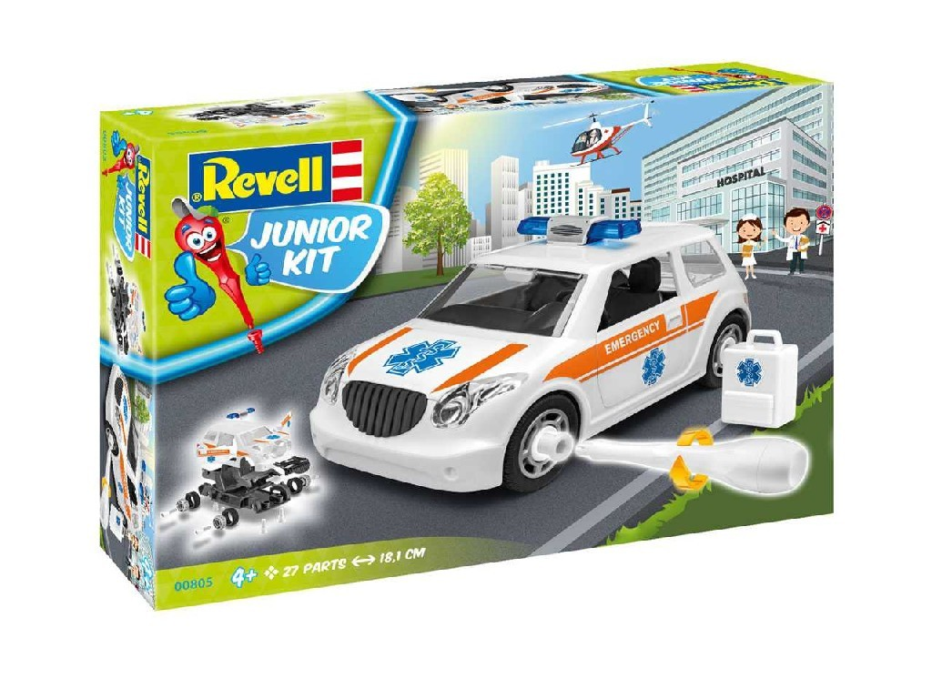 1/20 Junior Kit auto 00805 - Rescue Car