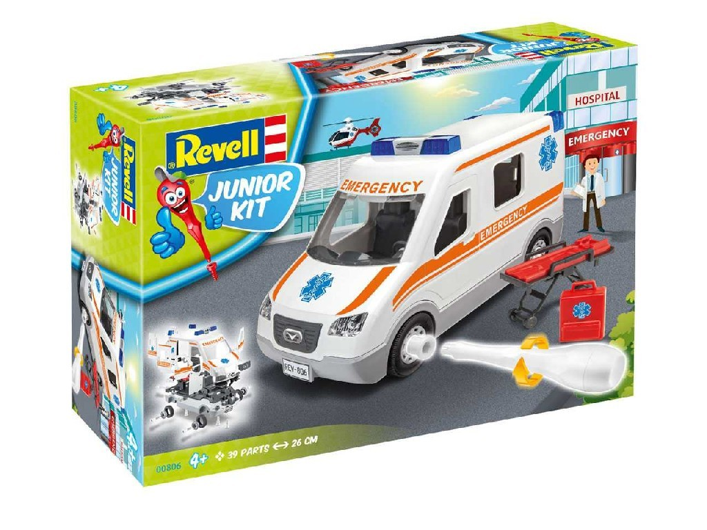 1/20 Junior Kit auto 00806 - Ambulance