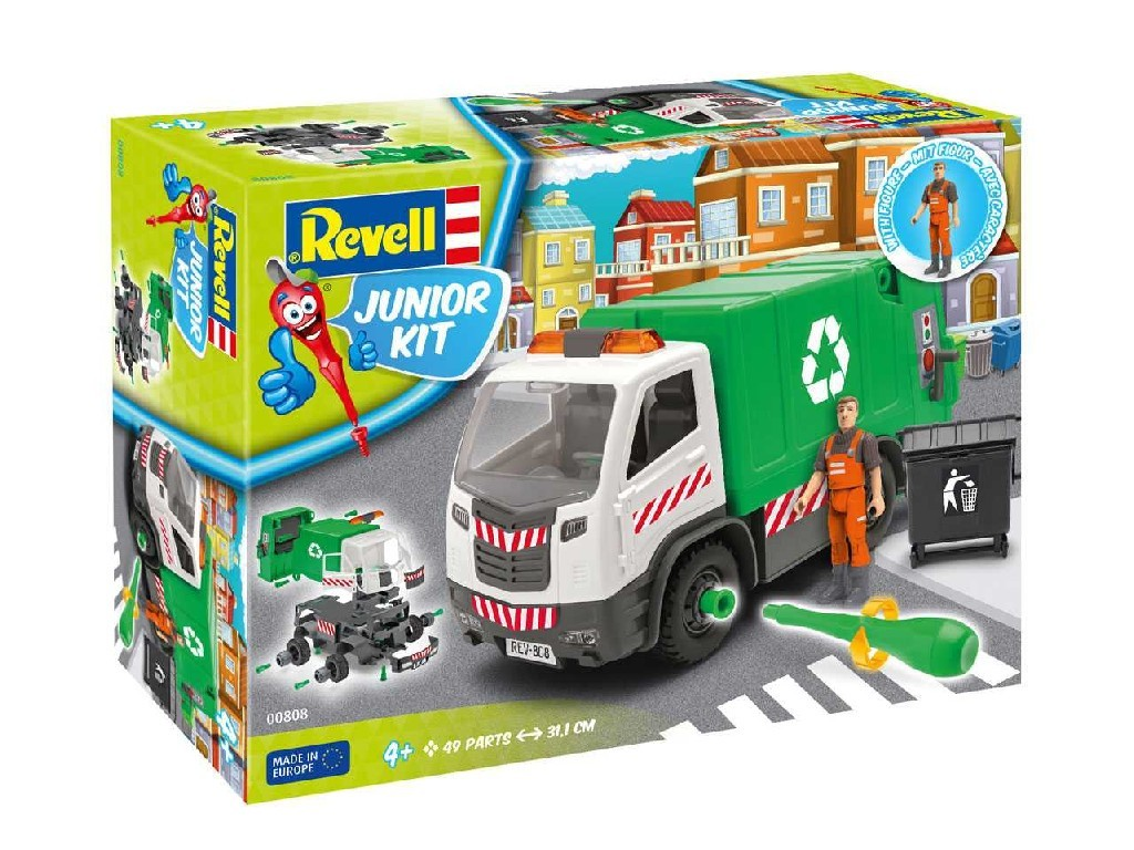 1/20 Junior Kit auto 00808 - Garbage Truck