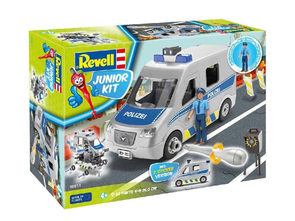 1/20 Junior Kit auto 00811 - Police Van