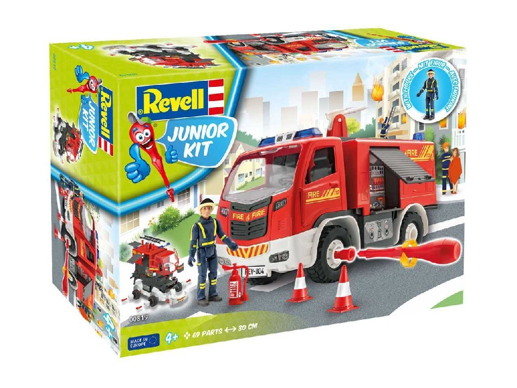 1/20 Junior Kit auto 00819 - Firetruck with figure