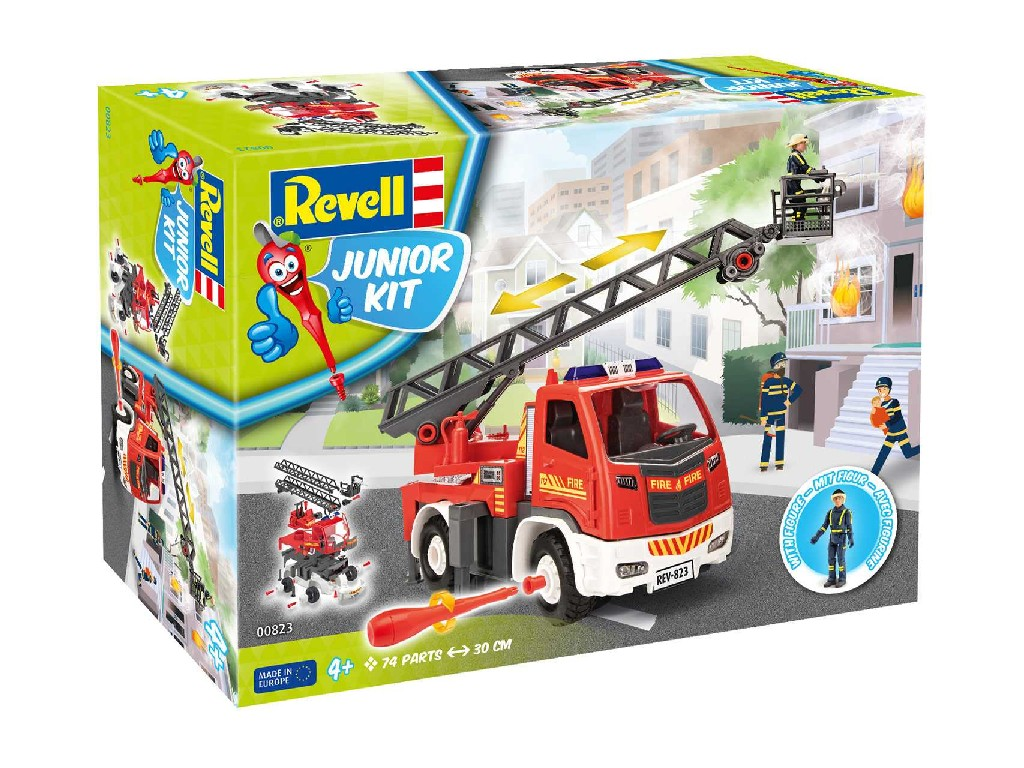 1/20 Junior Kit auto 00823 - Fire Truck - Ladder Unit