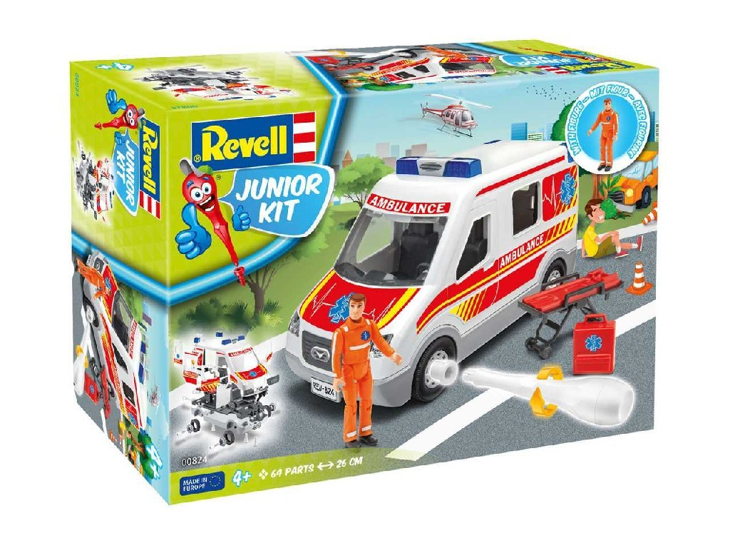 1/20 Junior Kit auto 00824 - Ambulance Car