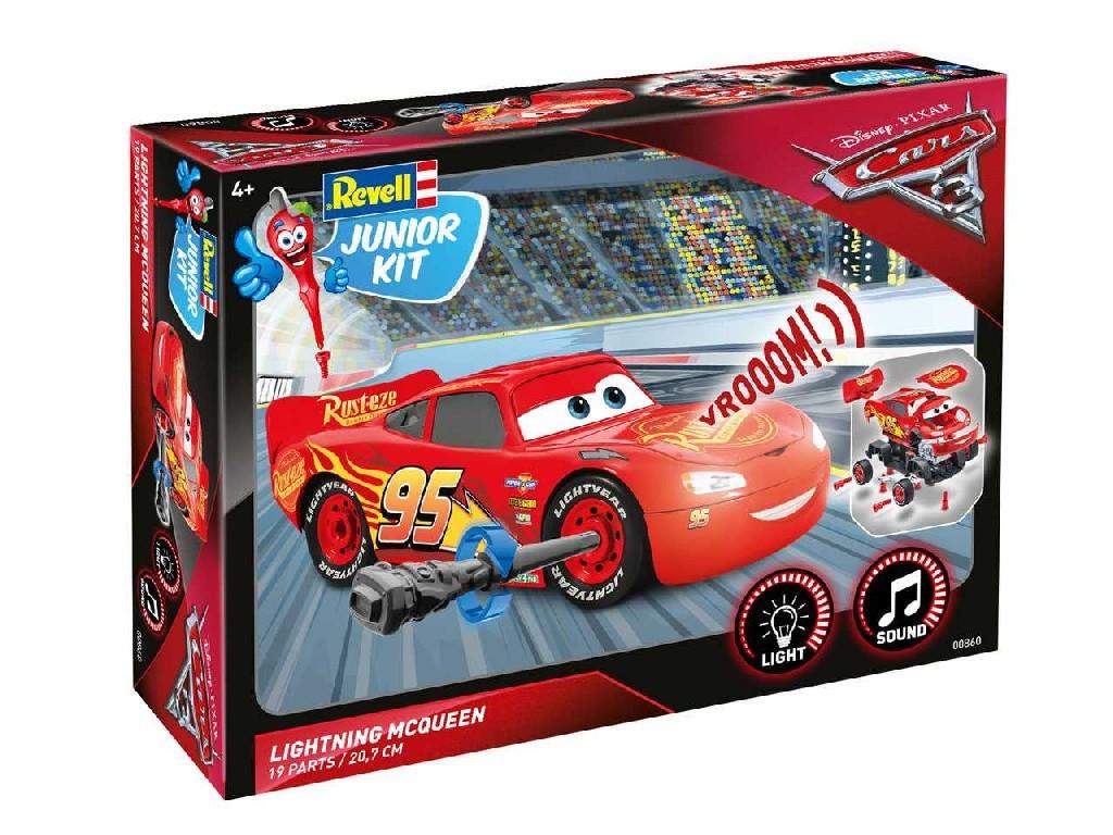 1/20 Junior Kit auto 00860 - Cars 3 - Blesk McQueen (světelné a zvukové efekty)