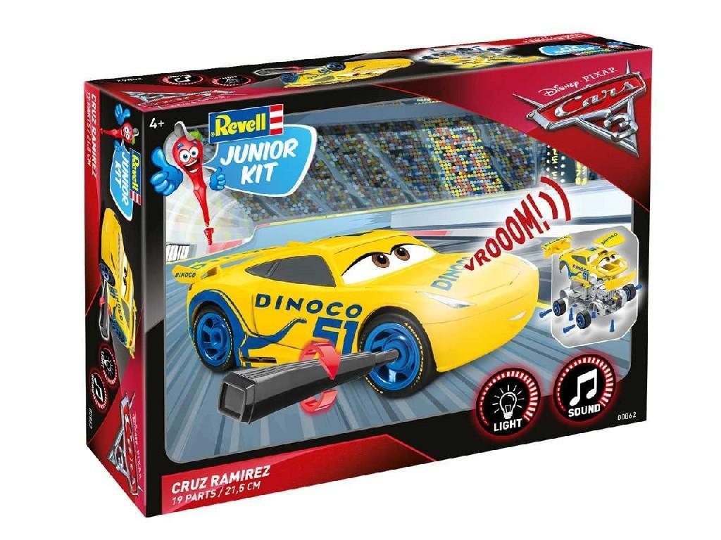 1/20 Junior Kit auto 00862 - Cars 3 - Cruz Ramirezová (světelné a zvukové efekty)