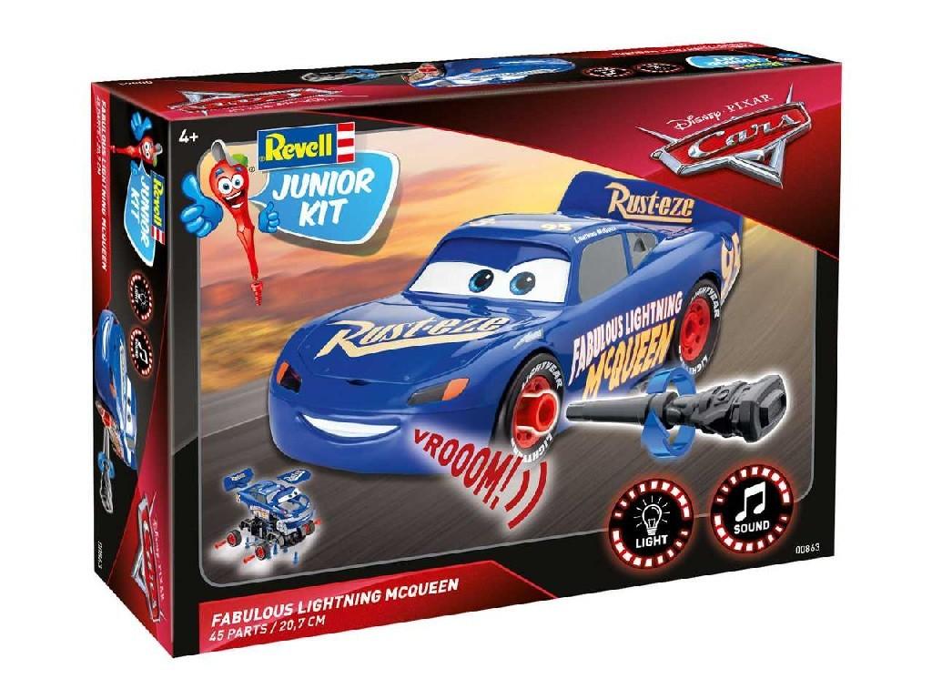 1/20 Junior Kit auto 00863 - Cars 3 - The Fabulous Lightning McQueen (světelné a zvukové efekty)