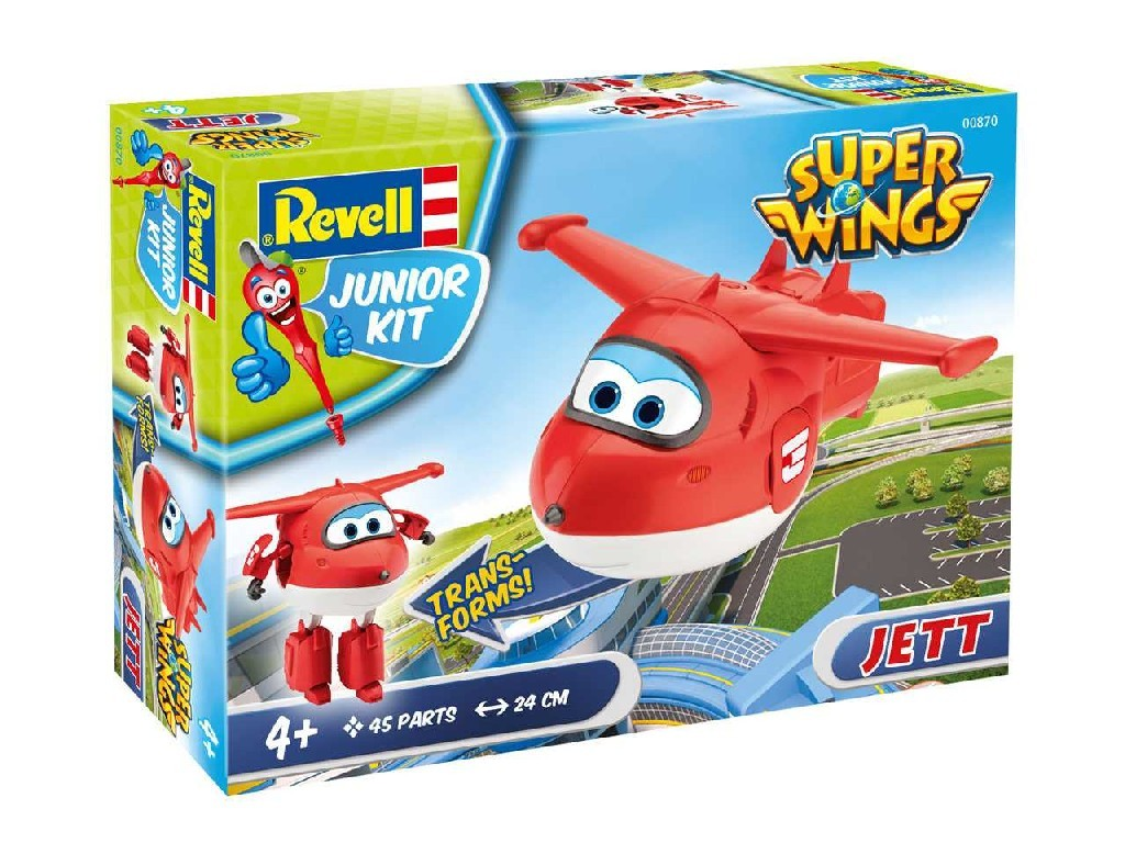 1/20 Junior Kit letadlo 00870 - Super Wings Jett