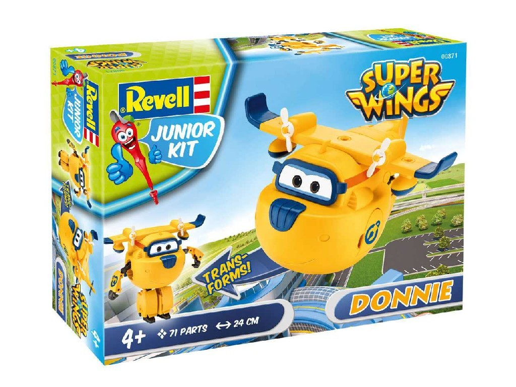 1/20 Junior Kit letadlo 00871 - Super Wings Donnie