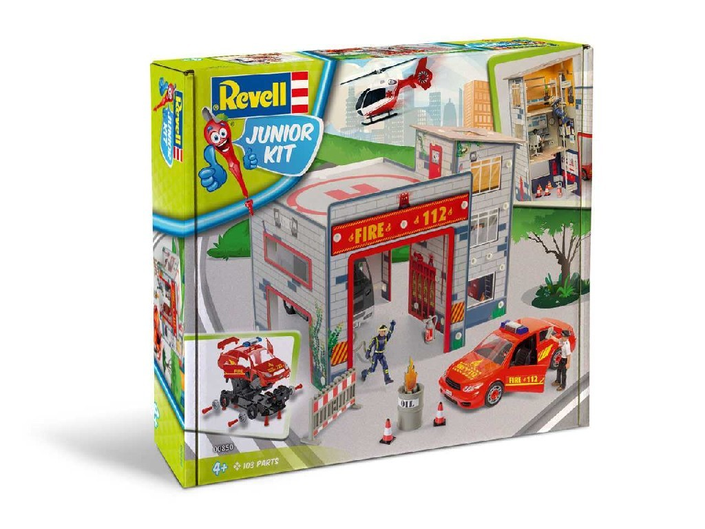 1/20 Junior Kit playset 00850 - Fire Station