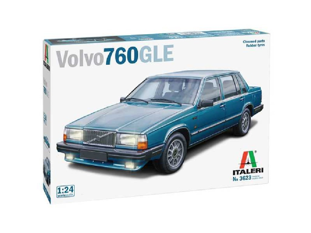 Model Kit auto 3623 - Volvo 760 GLE (1:24)