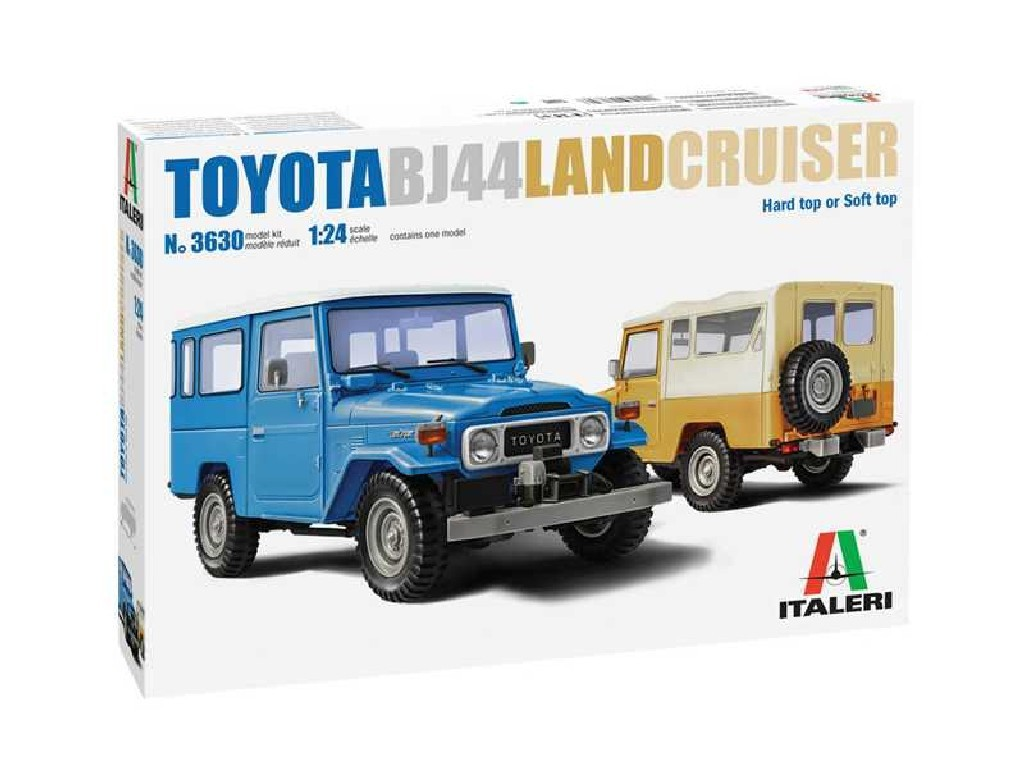 Italeri - auto 3630 - Toyota Land Cruiser BJ-44 Soft/Hard Top 1:24
