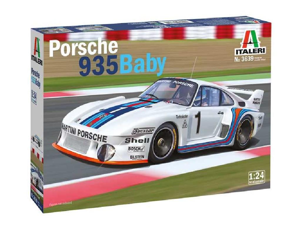 1/24 Plastikový model - auto 3639 - Porsche 935 Baby