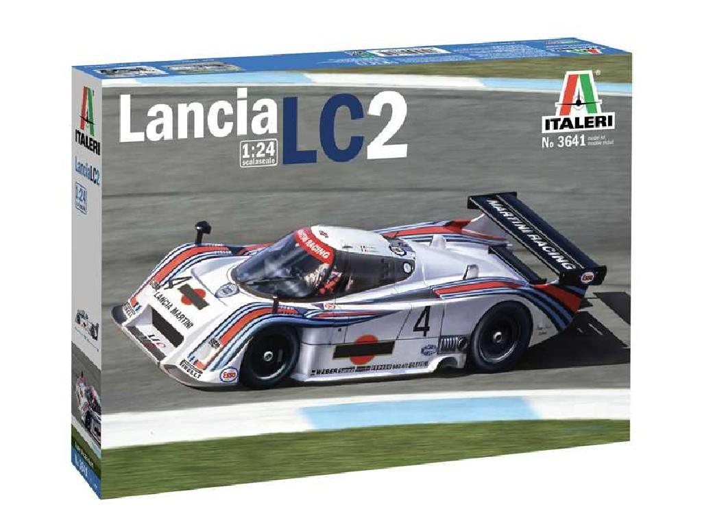 1/24 Plastikový model - auto 3641 - Lancia LC2