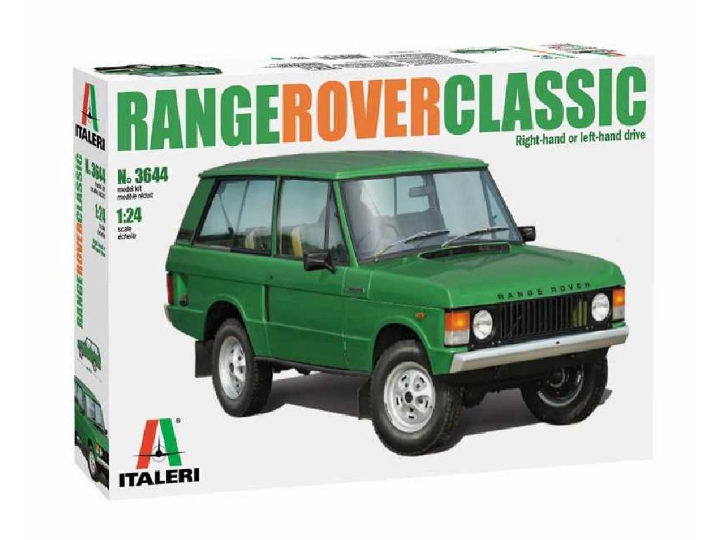 1/24 Plastikový model - auto 3644 - Range Rover Classic
