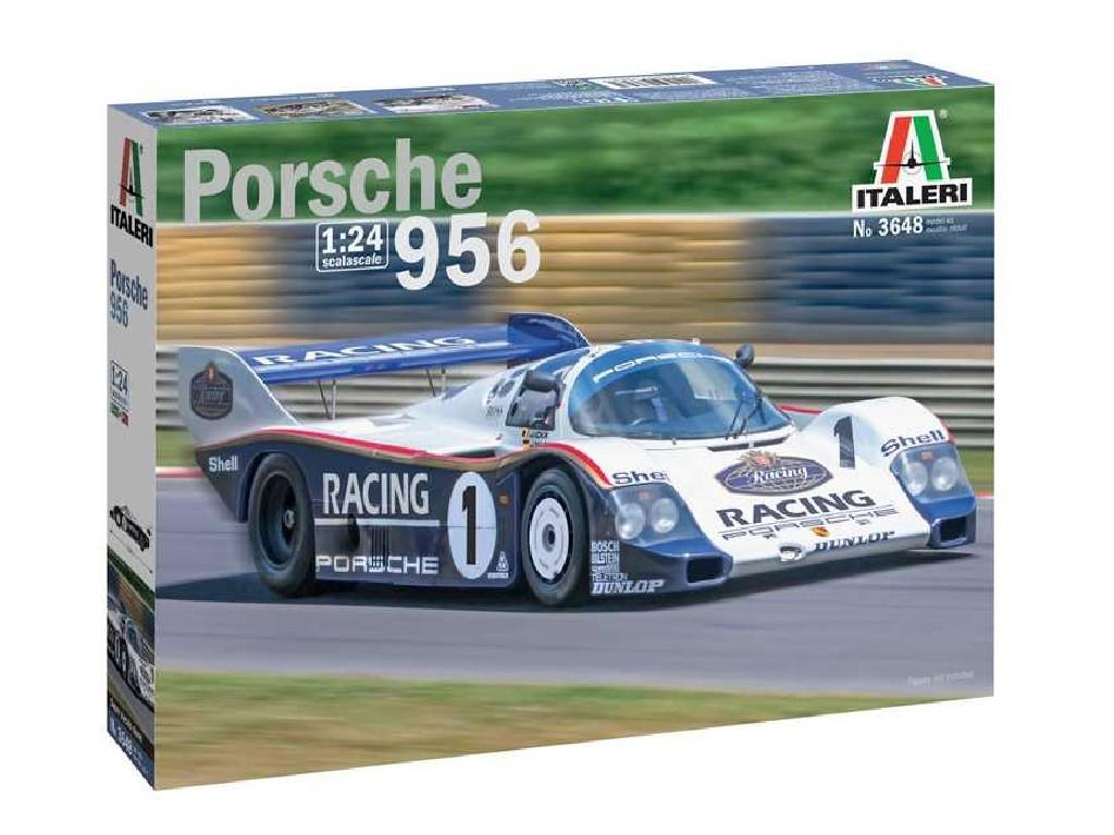 1/24 Plastikový model - auto 3648 - Porsche 956