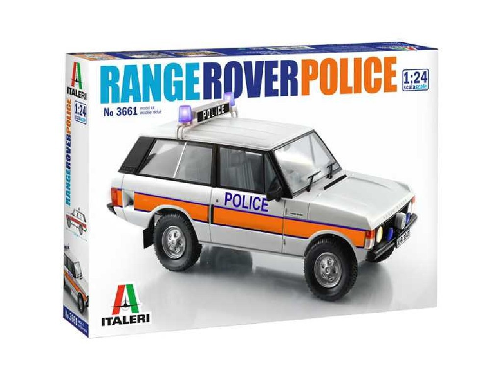 1/24 Plastikový model - auto 3661 - Police Range Rover