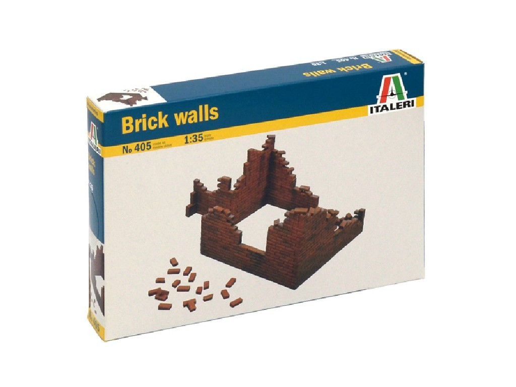 1/35 Model Kit budova 0405 - BRICK WALLS