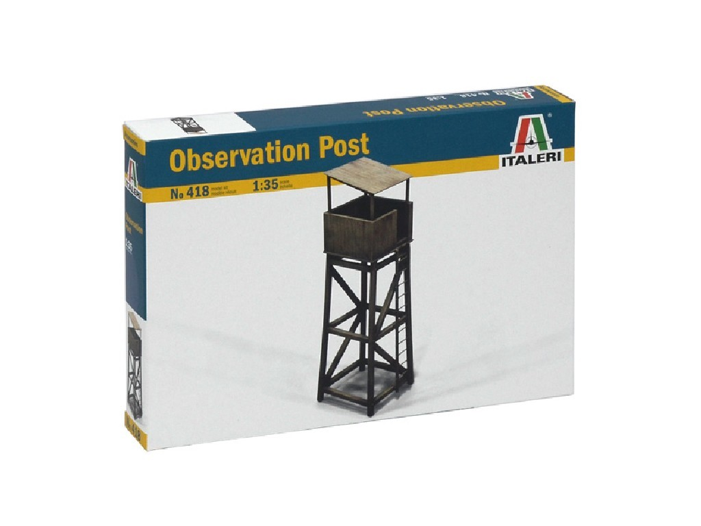 1/35 Model Kit budova 0418 - OBSERVATION POST